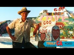 Leonard Knight, Salton Sea Salvation Mountain, CA Salvation Mountain, Salton Sea, John Waters, Desert Life, Good Movies, Awesome Movies, Mountain Art, Niece And Nephew, Great Love