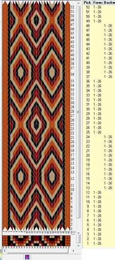 26 tarjetas, 4 colores, secuencias 12F-12B // sed_118a diseñado en GTT༺❁