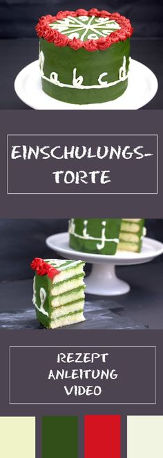 Einschulungstorte zum Schulstart Training cake – easy to bake, with instruction video enrollment bake New Kitchen Doors, New Kitchen Designs, Eating Habits, Cake Recipes, Berries, Fruit, Desserts, Food, Birthday Ideas