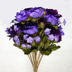 Bouquet Silk Flowers