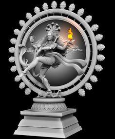 I tried sculpting Lord Shiva in his Nataraja form and the Asura Apasmara trampled beneath his foot., Prasad Nambiar