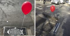 Creepy Red Balloons Started Appearing Everywhere