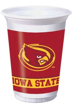 Creative Converting Iowa State Cyclones 20 oz Plastic Cups 8Count >>> Want additional info? Click on the image.