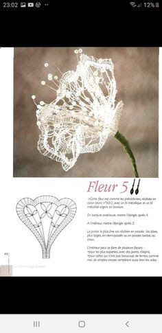 Bobbin Lace Patterns, Decoupage, Stitch, Flowers, Food Cakes, Bobbin Lace, Tulips, Silk, Ribbons