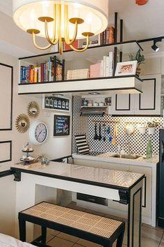 Super House Small Interior Design Philippines 70 Ideas Source by Condo Interior Design, Condo Design, Küchen Design, Apartment Design, Layout Design, Bedroom Designs, Sofa Design, Kitchen Interior, Design Trends