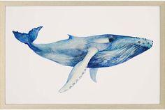 Whale's Song Framed Wall Art
