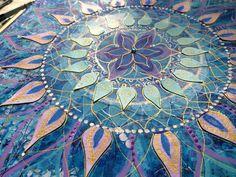 PaperTurtle: Mandala Canvas Art