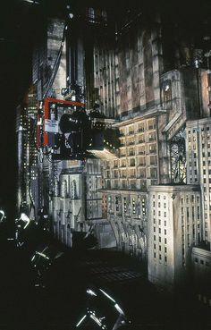 Tim Burtons Batman - Gotham City Miniature. by Stefan the Cameraman, via Flickr