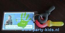 Afbeelding van sleutelhangers (afscheid peuterspeelzaal)