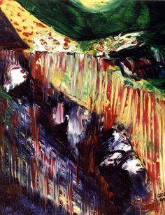 "Saatchi Online Artist Cris Acqua; Painting, ""6-ABSTRACTO Expresionista"" #art http://www.saatchionline.com/art-collection/Painting/ABSTRACTO-Expresionista/45144/26007/view"