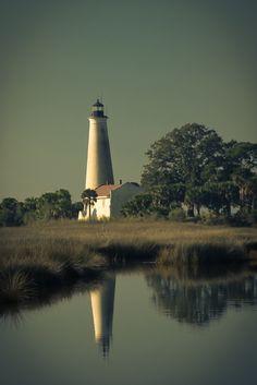 St. Marks Lighthouse by Belinda Vick