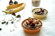 Mousse de cacau com banana e trigo sarraceno | nutrihealthyalex.com