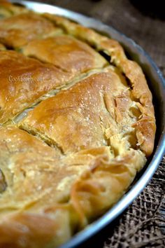 Greek Recipes, Desert Recipes, Spinach Quiche Recipes, Greek Cookies, Greek Dishes, Galette, Other Recipes, Pain, Appetizer Recipes