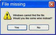 Tech problems? Would you like some wine instead?