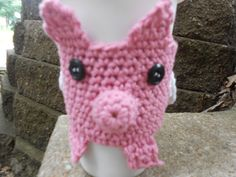 Pig with Wings Coffee Cozy by UncommonlyGood on Etsy, $7.50