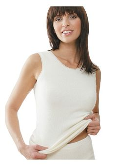 Angora Unterhemd für Damen - Medima das Angora Unterwäsche Original