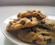 chocolate chip cookies with (optional) walnuts - plant based recipe!!