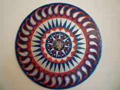 protective shield 60cms diameter on canvas original £90