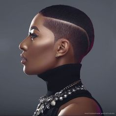 Natural Hair Short Cuts, Short Hair Cuts, Natural Hair Styles, Shaved Side Hairstyles, African Hairstyles, Shaved Hair Designs, Best Shave, Bald Hair, Men's Hair