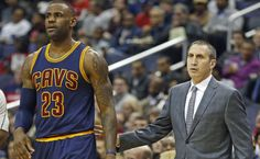 BREAKING:  LeBron James and Cleveland Cavaliers fire head coach David Blatt