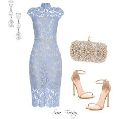 Untitled #38 by sara-elizabeth-feesey on Polyvore featuring polyvore, fashion, style, Lover, Stuart Weitzman and Marchesa