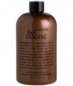 Philosophy Double Rich Hot Cocoa 3-in-1 Shampoo, Shower Gel & Bubble Bath - 24 oz Philosophy,http://www.amazon.com/dp/B004DY1VO8/ref=cm_sw_r_pi_dp_6XZRsb1DS4XX0RQQ