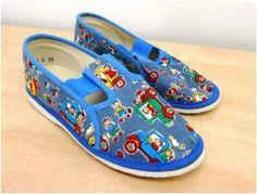 Dětské papuče - bačkůrky z bazaru