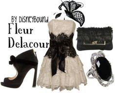 Fleur inspired formal wear