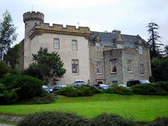 South side of Tulloch Castle, Scotland.