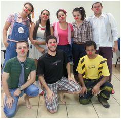 Segundo dia do curso - clowns