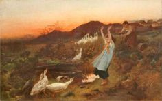 The Gander - George Hemming Mason