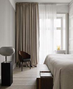 Home Decor Bedroom .Home Decor Bedroom Minimal Bedroom, Modern Bedroom, Swedish Bedroom, Bedroom Rustic, Master Bedrooms, Elegant Home Decor, Elegant Homes, Deco Studio, Swedish Interiors