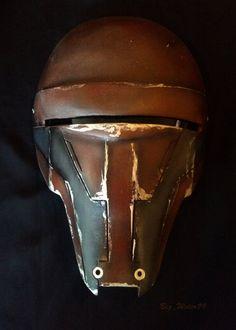 Darth Revan Mask Star Wars KOTOR Prop ROTS Helmet by Bigwater99