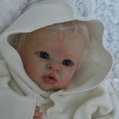 Doves Nursery - Beautiful Infant Reborn Baby Girl ~ Misha Sculpt by Linda Murray www.wonderfinds.com/item/3_200924361221/c122723/Reborn-Baby-Girl