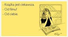 Gdy ktoś próbuje się śmiać z czytającego...