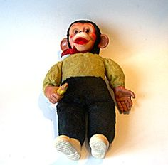 Monkey Doll from the 70's. This was my favorite toy of all time. At the age of 6 I stated I wanted to be buried with him when I die. I still have him. Maybe I'll have him cremated with me. LOL