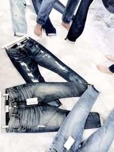 These would look great with a leather jacket (shop perfect leather jackets at www. Denim Jeans Men, Jeans Pants, Denim Display, Best Jeans, Frame Denim, Denim Fashion, Cool Outfits, My Style, Fendi