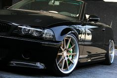 BMW E46 Convertible with Hyperforged Wheels