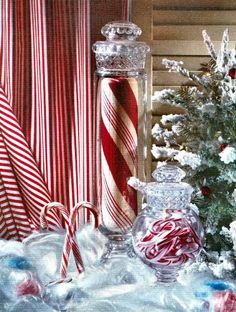 Candy Canes and Peppermint Sticks