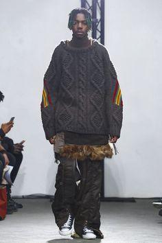 Facetasm Menswear Fall Winter 2017 Paris