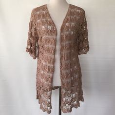 BOHO...HIGH LOW SHRUG BY BREEZE EVER SIZE MED. NWT BOHO...HIGH LOW SHRUG BY BREEZE  EVER SIZE MEDIUM.. Sorry no trades. breeze Ever Sweaters Shrugs & Ponchos