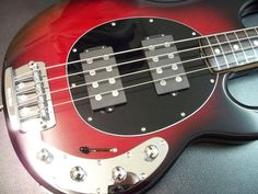 Color Dilemma - need pics so show me yours! Bass Guitars, Electric Guitars, I Love Bass, Bass Guitar Lessons, Cool Guitar, Cherry, Studio, Black, Bass