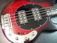 Music Man Stingray 5 Black Cherry Burst Bass