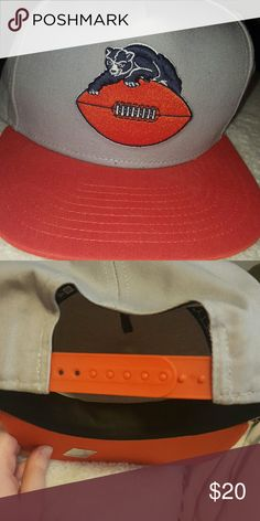 BEARS Snap back hat Bears snap back hat, new condition, flat brim but can bend it if you need/want New Era Accessories Hats
