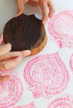 Woodblock printing tutorial