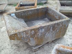 Laundry trough from Provence