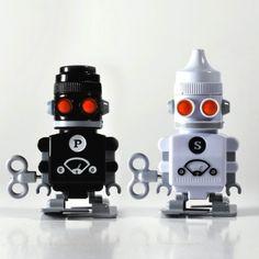 """Salero y pimentero """"Robots"""""""