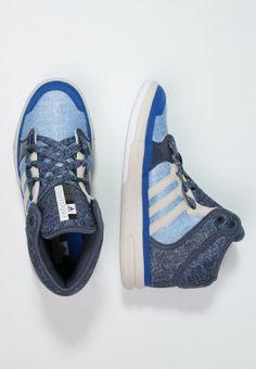 adidas Performance IRANA - Sneakers hoog - bold blue/midnight grey/clear brown - Zalando.nl