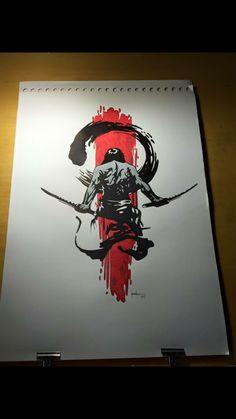 Maori Tattoo Arm, Tribal Sleeve Tattoos, Japanese Sleeve Tattoos, Viking Tattoos, Samurai Warrior Tattoo, Daddy Tattoos, Samurai Wallpaper, Trash Polka Tattoo, Samurai Artwork