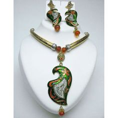 Indian Goldplated Jewelry and High Fashion Cosutme Jewellery Online Store - Fashionheena